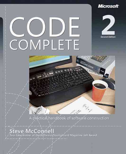 Code Complete By McConnell, Steve
